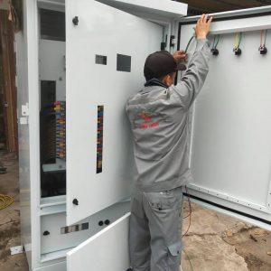 lắp đặt tủ điện điều khiển quảng nam